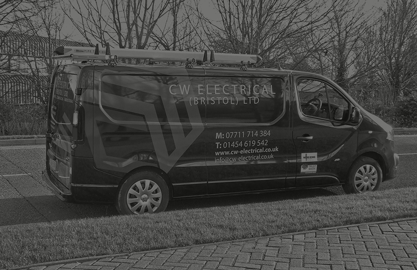 bristol electrical contractors van